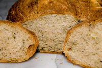 Buttermilk whole wheat spinach cheese boule, own recipe  20070518-16.28.27