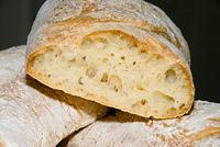"Ciabatta, poolish method, from Peter Reinhart's ""The Bread Baker's Apprentice""  20070902-14.36.13"